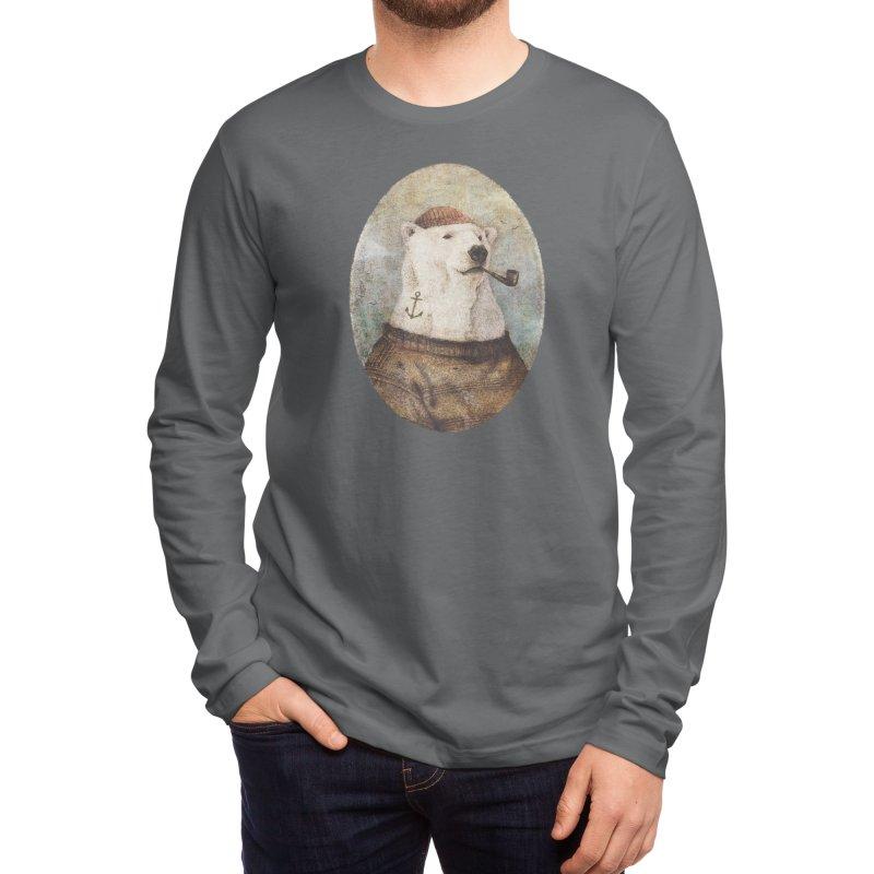 Onto the Shore Men's Longsleeve T-Shirt by mikekoubou's Artist Shop