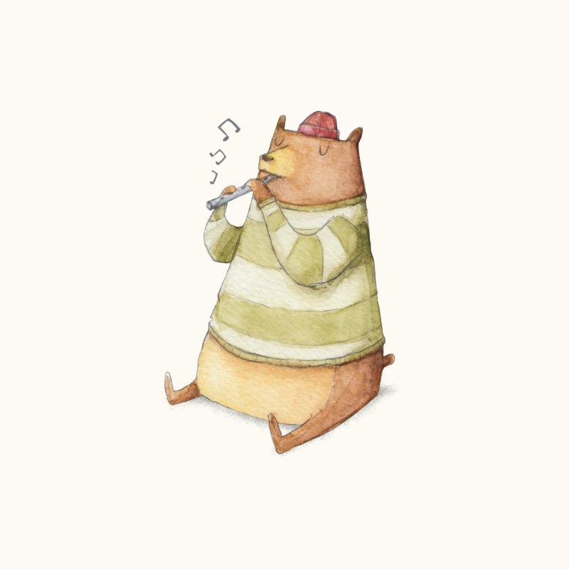 Happy Bear by mikekoubou's Artist Shop