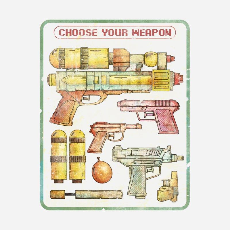 Choose Your Weapon by mikekoubou's Artist Shop