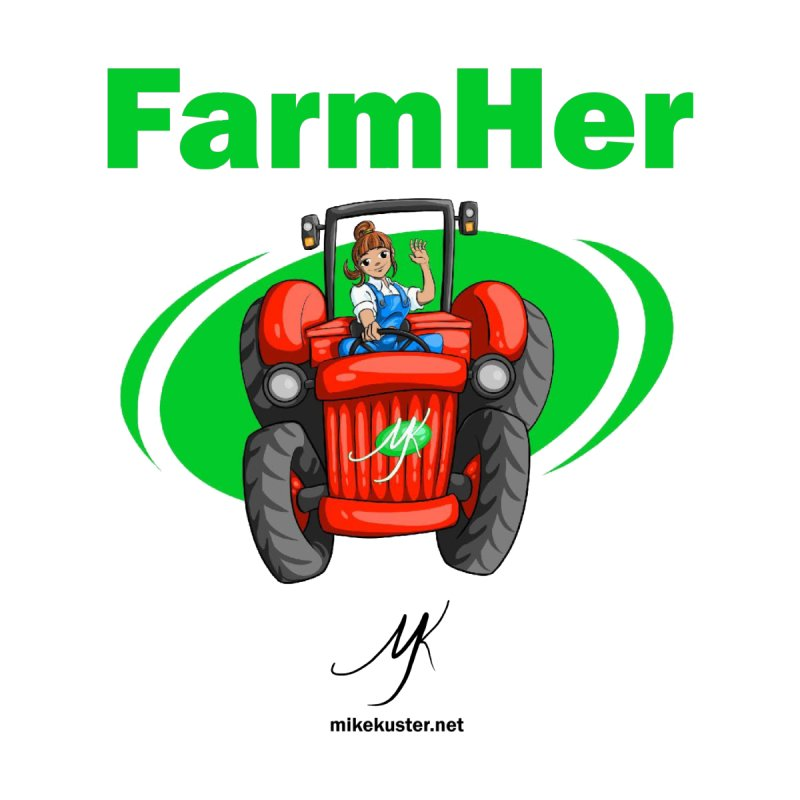 FarmHer Kids Baby Zip-Up Hoody by Mike Kuster's Artist Shop