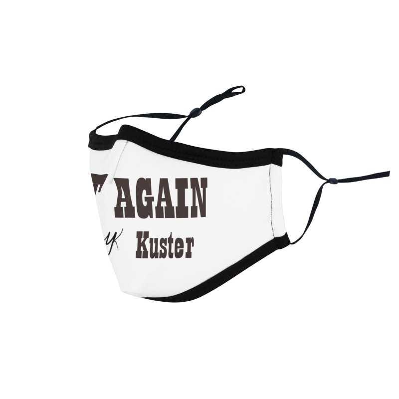 Hurt Again (Text) Accessories Face Mask by Mike Kuster's Artist Shop