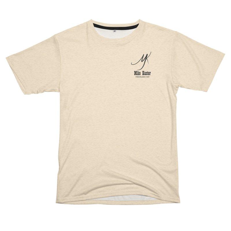 Daddy's Blue Jean Jacket - Tan Shirt Men's Cut & Sew by Mike Kuster's Artist Shop