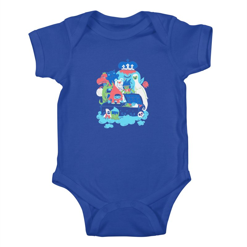 Death of Imagination Kids Baby Bodysuit by mikelaughead's Artist Shop