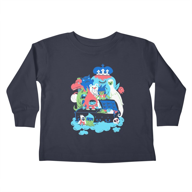 Death of Imagination Kids Toddler Longsleeve T-Shirt by mikelaughead's Artist Shop