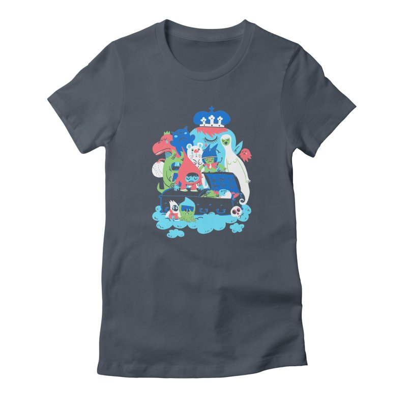 Death of Imagination Women's Fitted T-Shirt by mikelaughead's Artist Shop