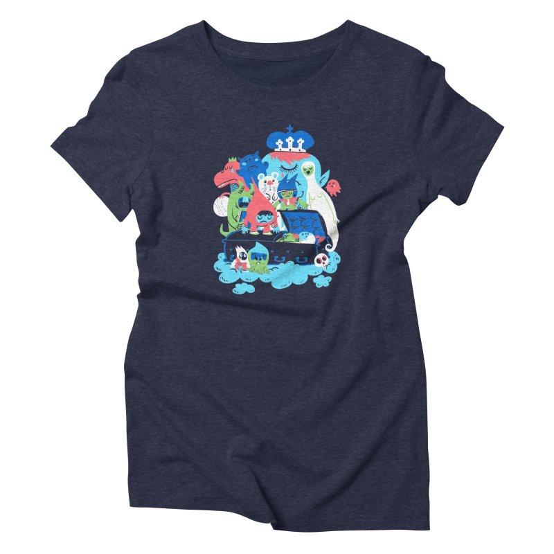 Death of Imagination Women's Triblend T-Shirt by mikelaughead's Artist Shop