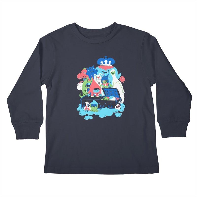 Death of Imagination Kids Longsleeve T-Shirt by mikelaughead's Artist Shop