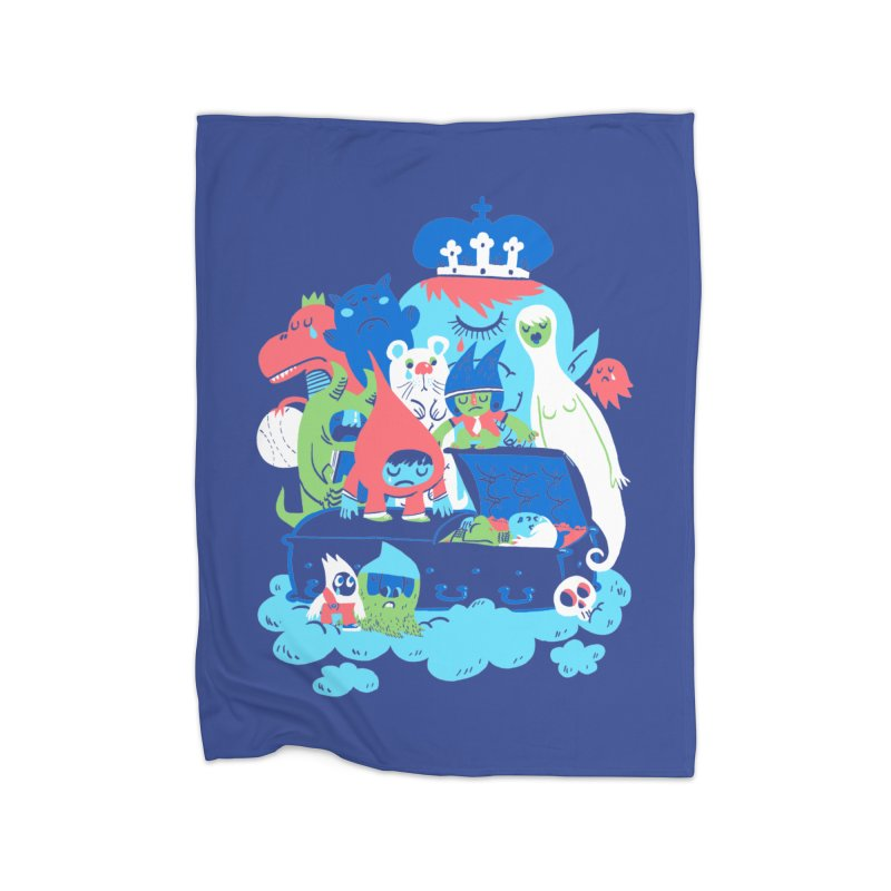 Death of Imagination Home Blanket by mikelaughead's Artist Shop