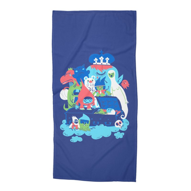 Death of Imagination Accessories Beach Towel by mikelaughead's Artist Shop