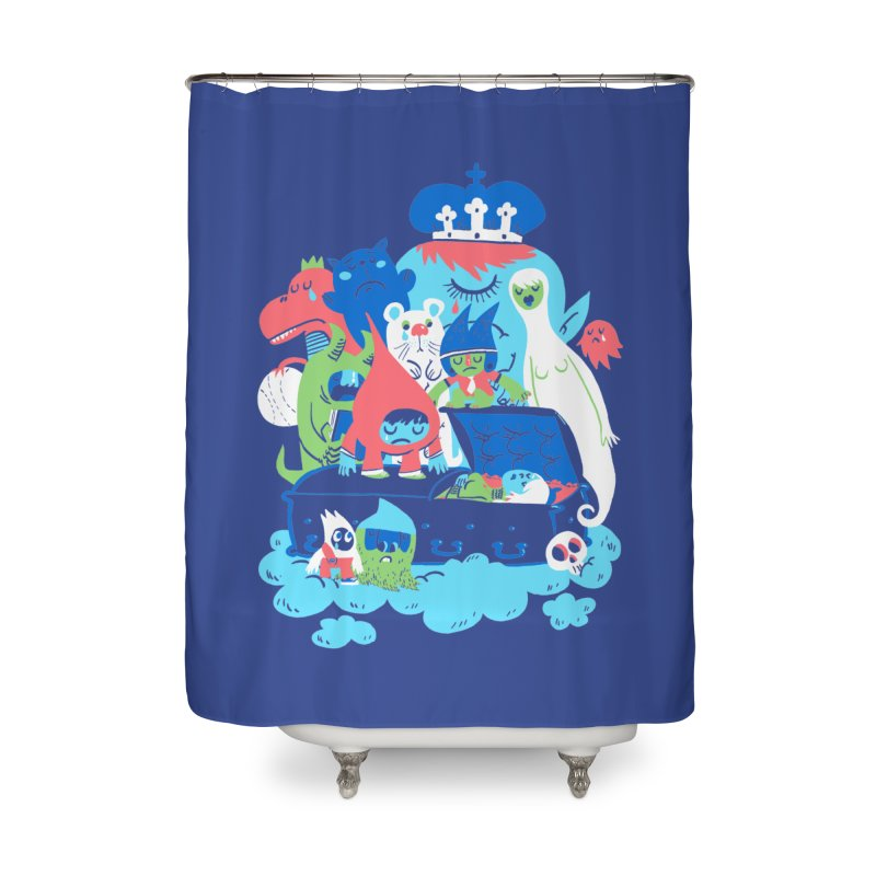 Death of Imagination Home Shower Curtain by mikelaughead's Artist Shop