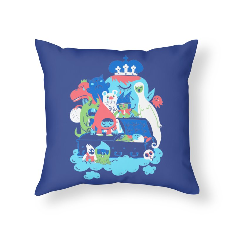 Death of Imagination Home Throw Pillow by mikelaughead's Artist Shop