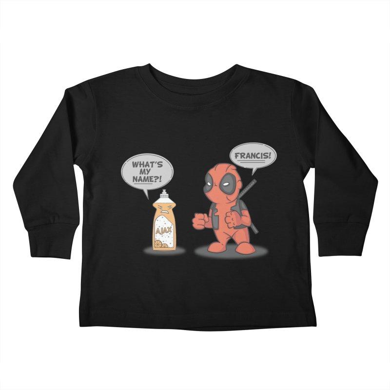 Nemesis Kids Toddler Longsleeve T-Shirt by mikemcleod's Artist Shop