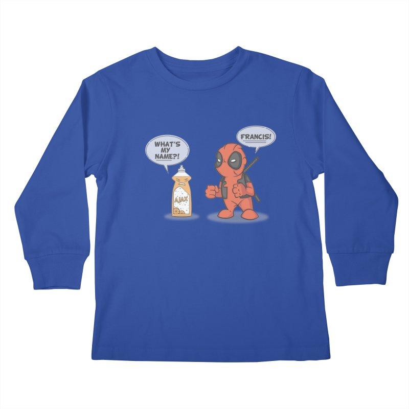 Nemesis Kids Longsleeve T-Shirt by mikemcleod's Artist Shop