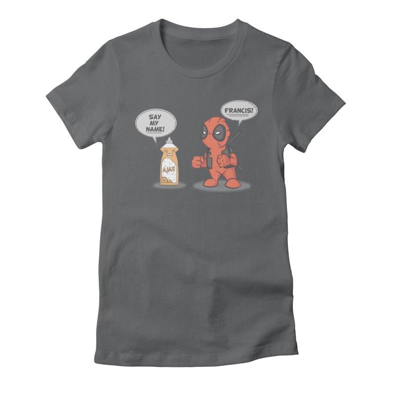 Nemesis Women's Fitted T-Shirt by mikemcleod's Artist Shop