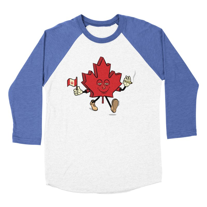 CANADIAN BAKIN' Men's Baseball Triblend Longsleeve T-Shirt by The Mike Merg Shop -- On Threadless
