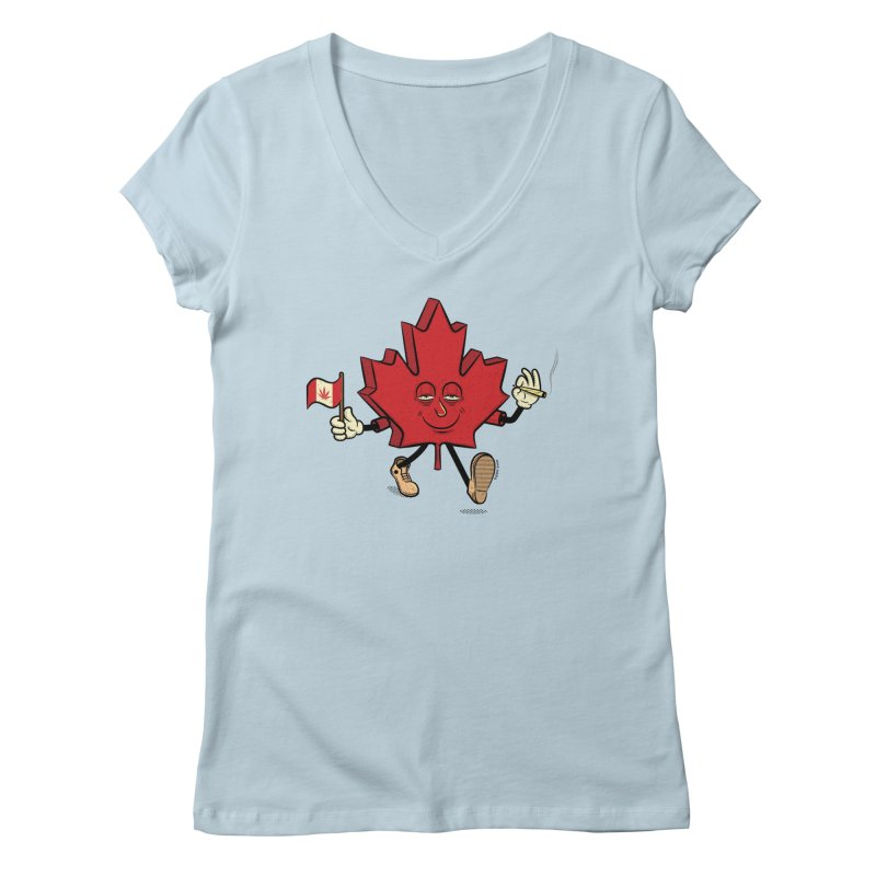 CANADIAN BAKIN' Women's V-Neck by The Mike Merg Shop -- On Threadless