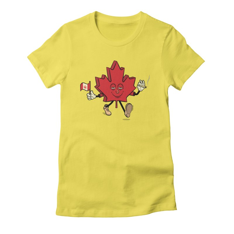 CANADIAN BAKIN' Women's Fitted T-Shirt by The Mike Merg Shop -- On Threadless