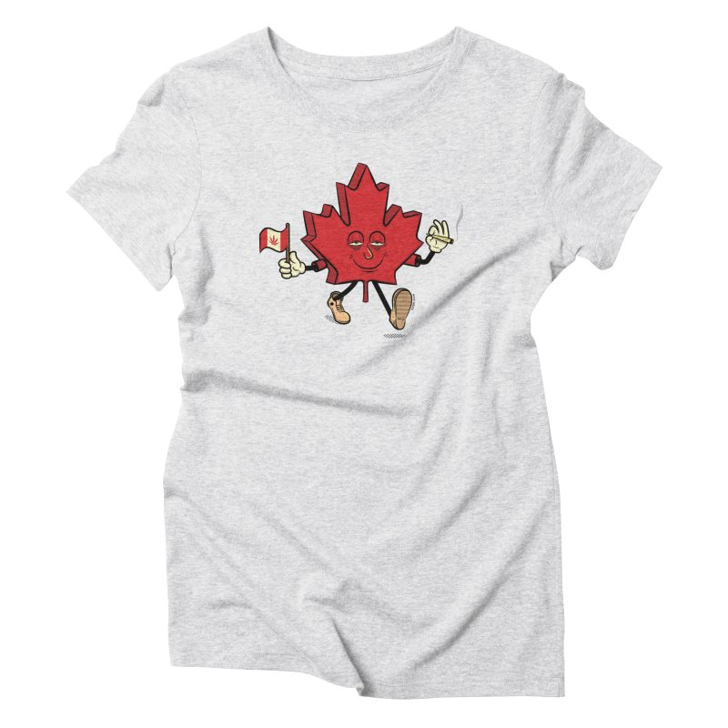CANADIAN BAKIN' Women's Triblend T-Shirt by The Mike Merg Shop -- On Threadless