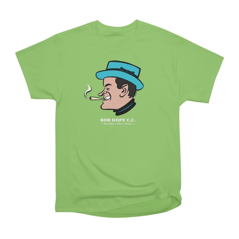 BOB DOPE C.C. Men's Heavyweight T-Shirt by The Mike Merg Shop -- On Threadless