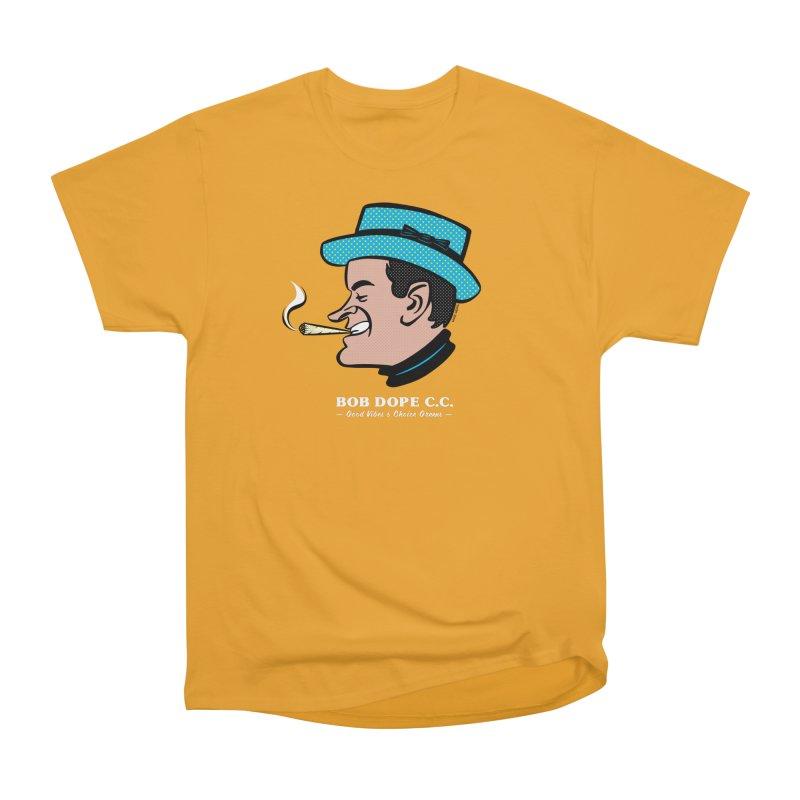 BOB DOPE C.C. Men's Heavyweight T-Shirt by The Mike Merg Shop -- On Threadless