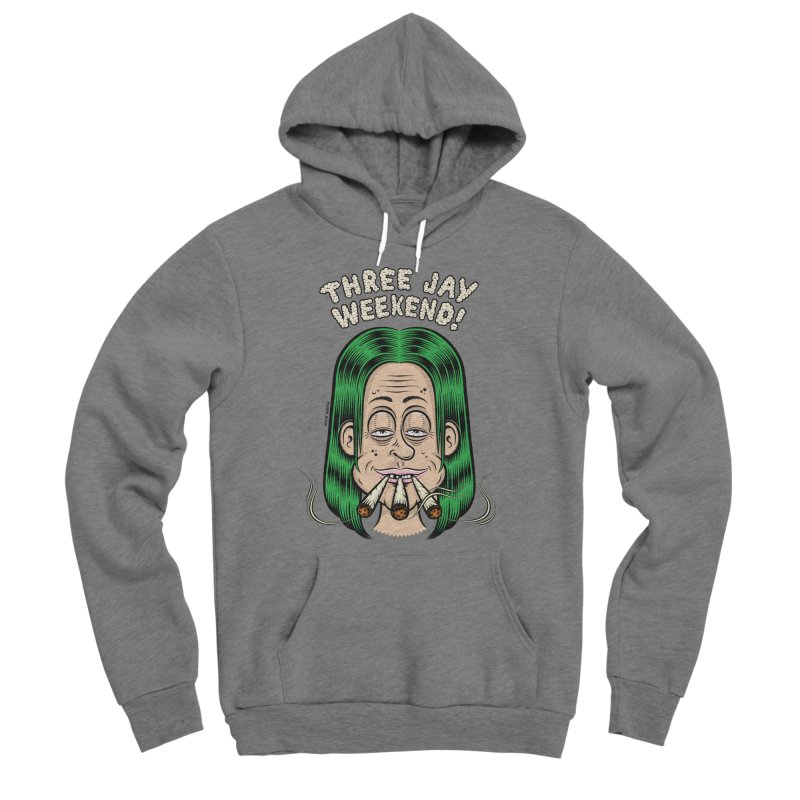 THREE JAY WEEKEND Women's Sponge Fleece Pullover Hoody by The Mike Merg Shop -- On Threadless