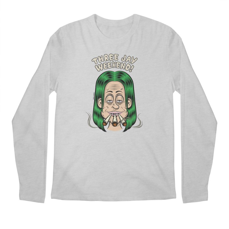 THREE JAY WEEKEND Men's Regular Longsleeve T-Shirt by The Mike Merg Shop -- On Threadless