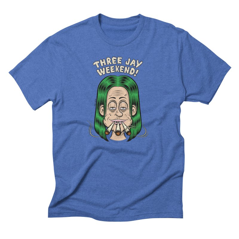 THREE JAY WEEKEND Men's T-Shirt by The Mike Merg Shop -- On Threadless