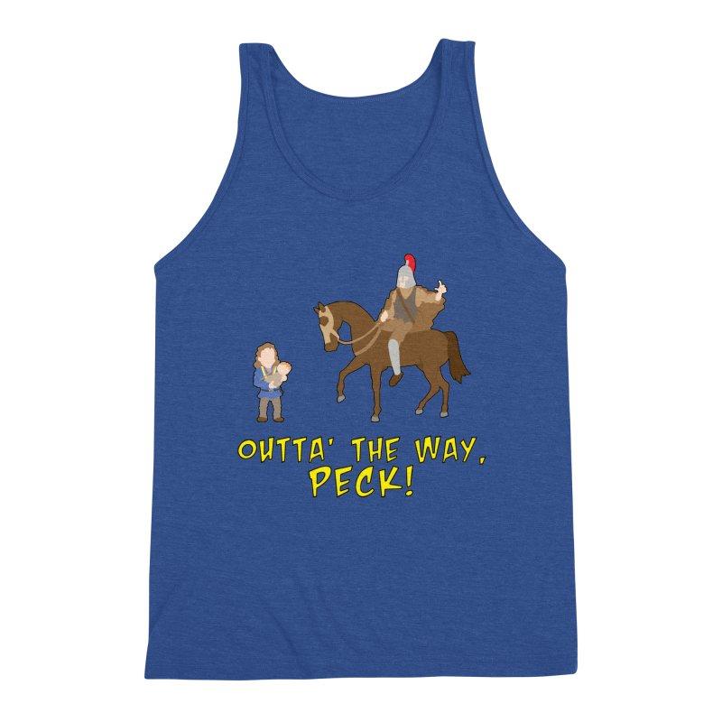 Outta' The Way, Peck! Men's Tank by Mike Schmidt Comics - Artist Shop