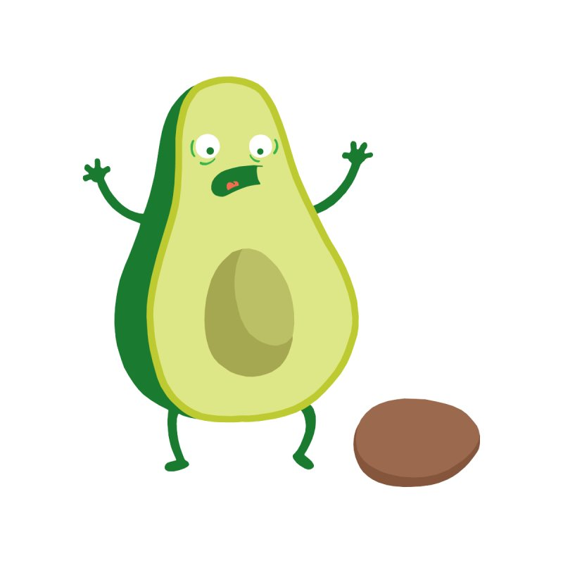 Avocado Horror by Mike Schmidt Comics - Artist Shop