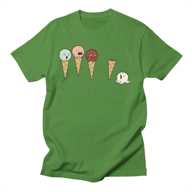 Ice Cream Horror Men's T-Shirt by Mike Schmidt Comics - Artist Shop