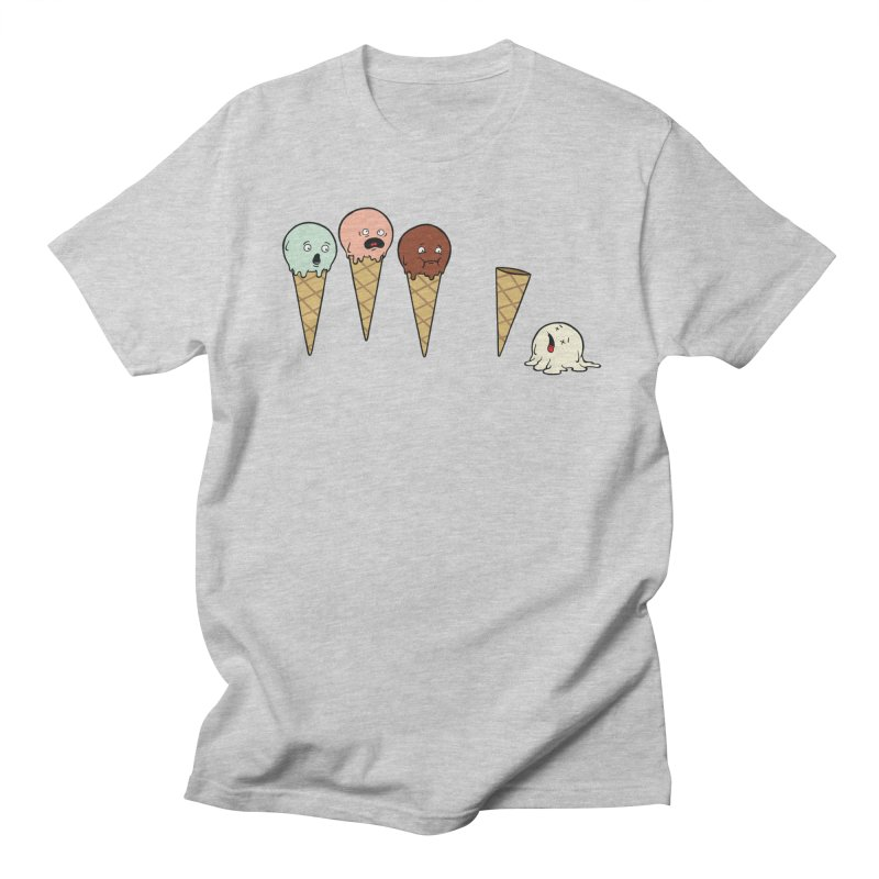 Ice Cream Horror Men's T-Shirt by Mike Schmidt Comics - Artist Shop
