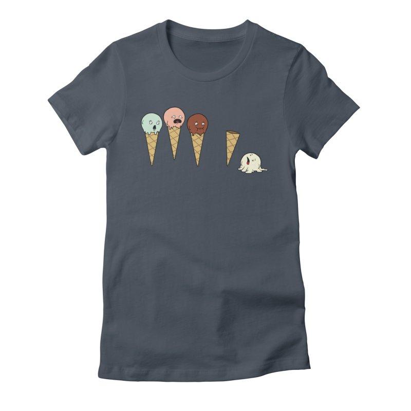 Ice Cream Horror Women's T-Shirt by Mike Schmidt Comics - Artist Shop