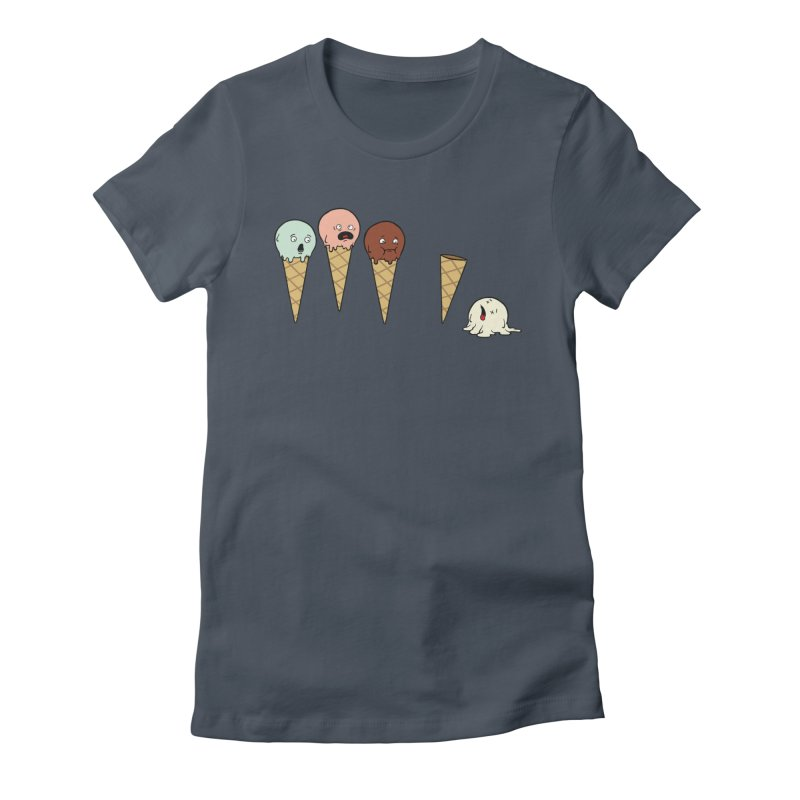 Ice Cream Horror Women's T-Shirt by Mike Schmidt Comics - Artist Shop
