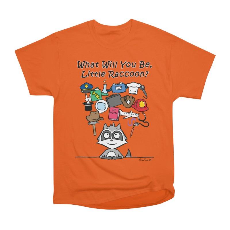 What Will You Be, Little Raccoon? Men's T-Shirt by Mike Schmidt Comics - Artist Shop
