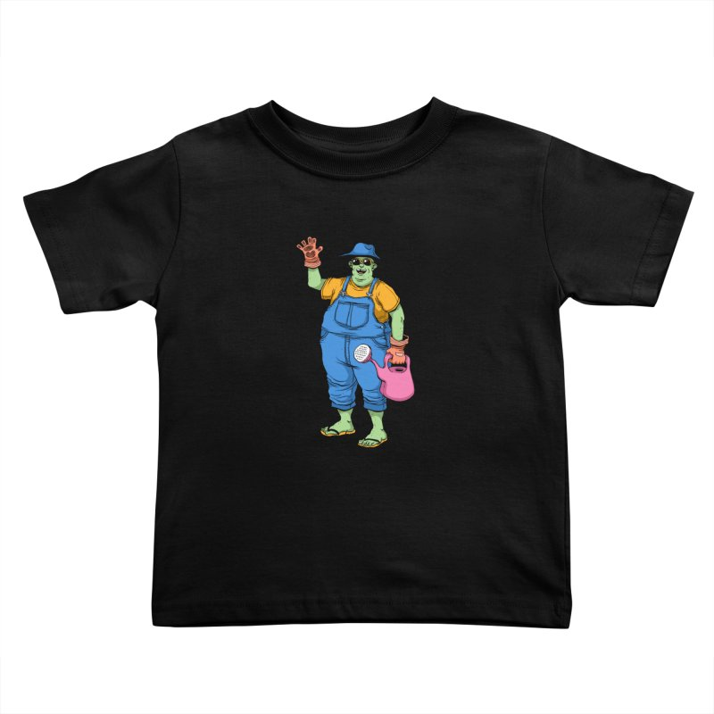 Number One Neighbor Kids Toddler T-Shirt by mikeshea's Artist Shop