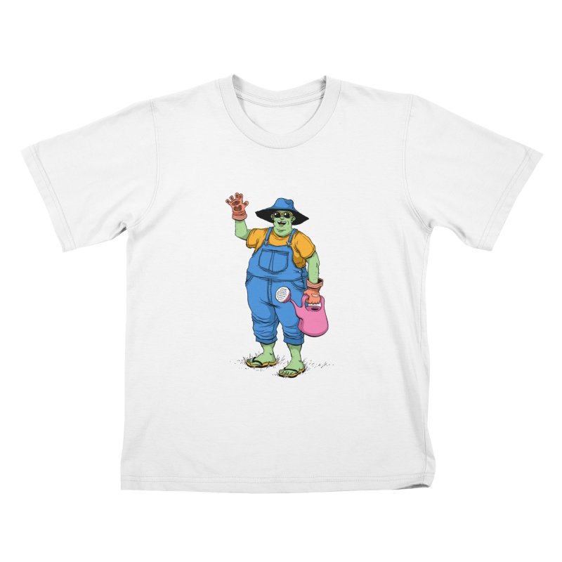 Number One Neighbor Kids T-Shirt by mikeshea's Artist Shop