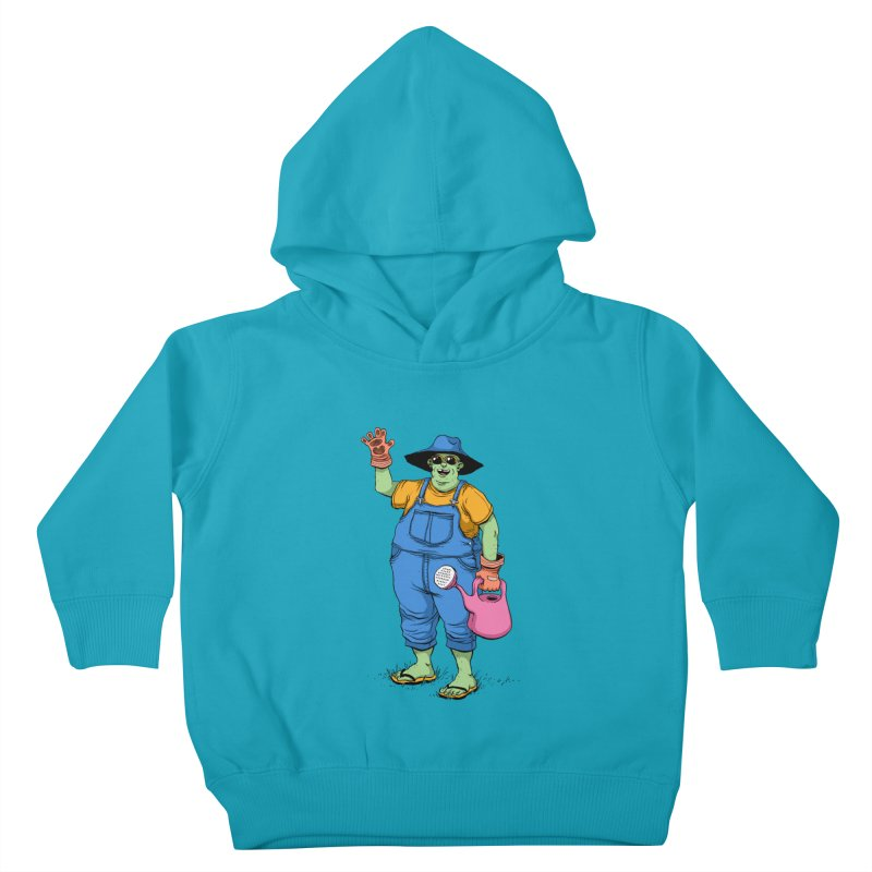 Number One Neighbor Kids Toddler Pullover Hoody by mikeshea's Artist Shop