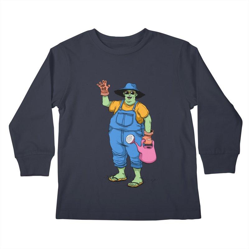 Number One Neighbor Kids Longsleeve T-Shirt by mikeshea's Artist Shop