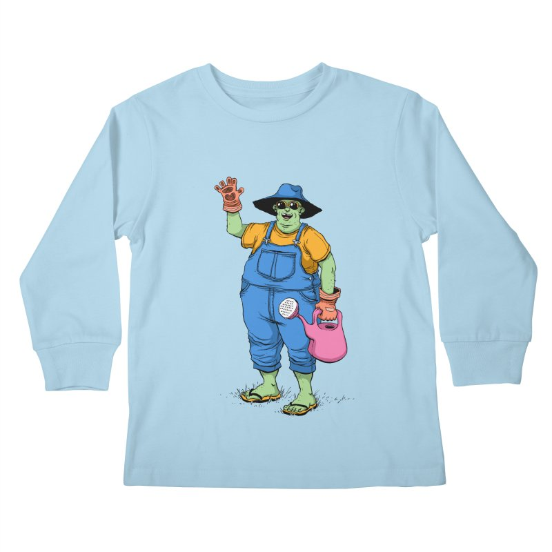 Number One Neighbor Kids Longsleeve T-Shirt by mikeshea's Artist Shop