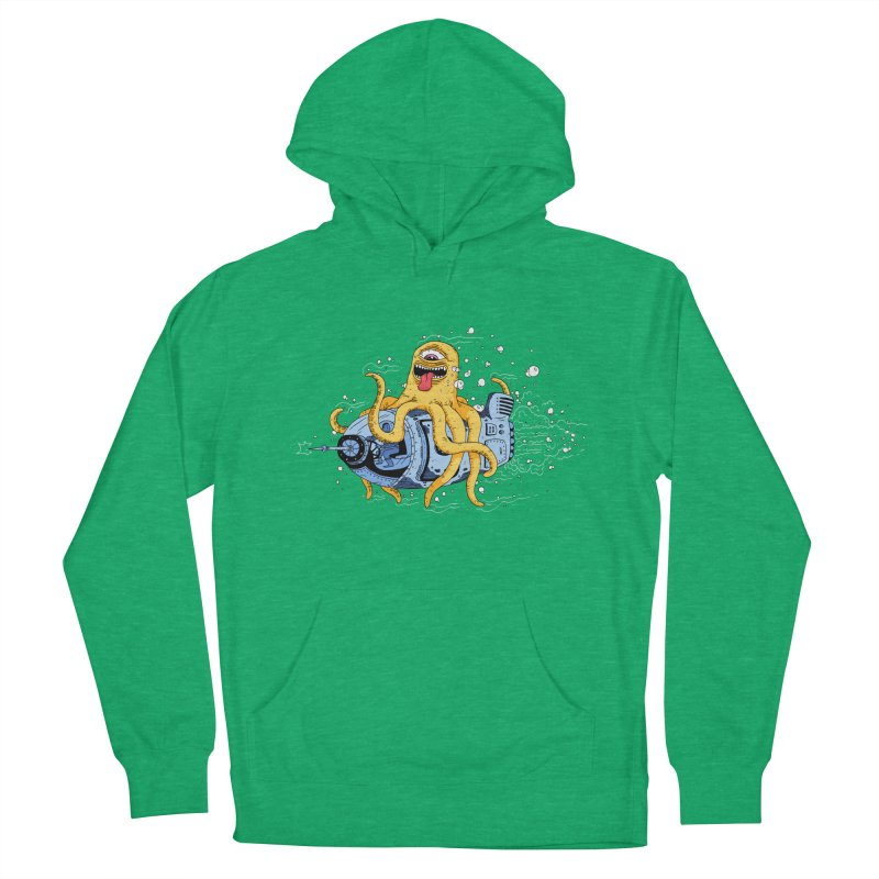 Squid Cruisin Women's French Terry Pullover Hoody by mikeshea's Artist Shop