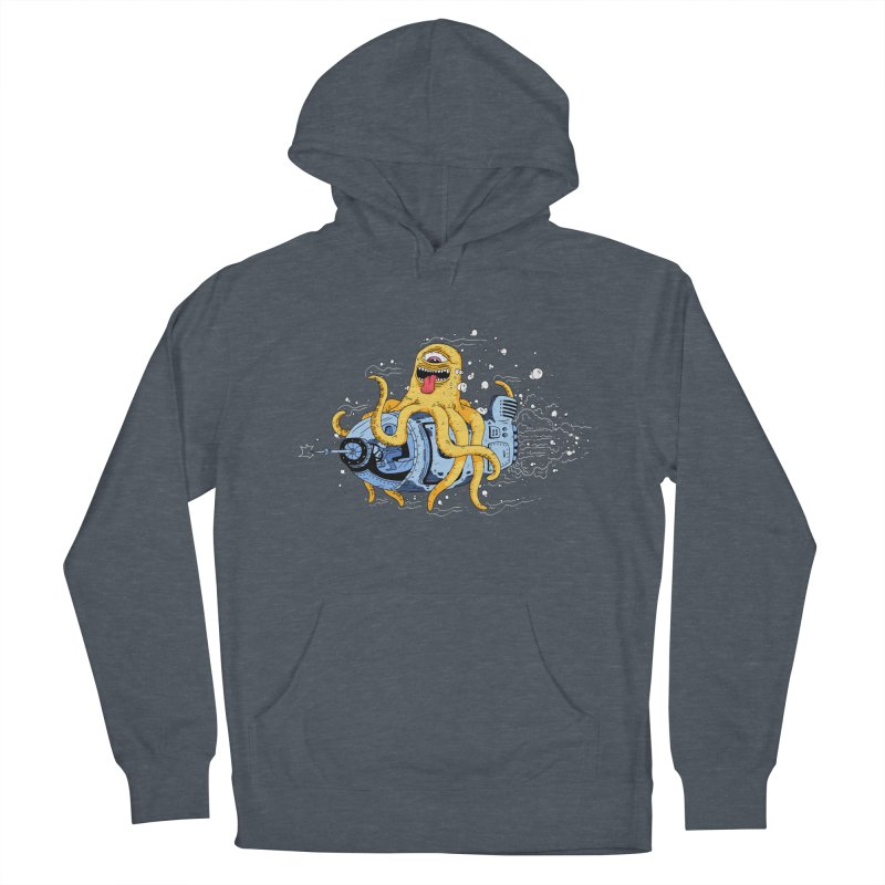 Squid Cruisin Women's Pullover Hoody by mikeshea's Artist Shop