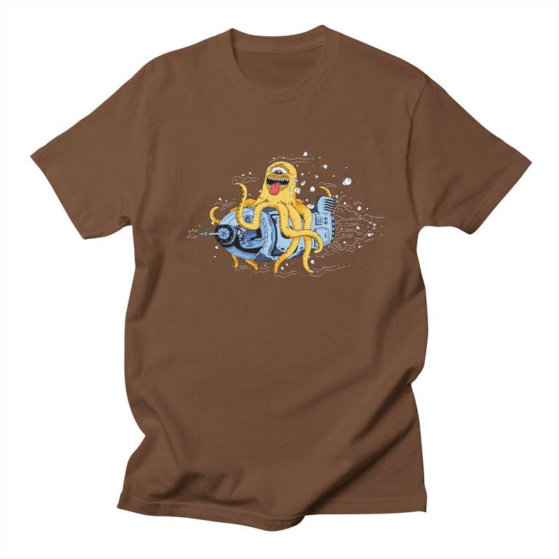 Squid Cruisin Men's T-Shirt by mikeshea's Artist Shop