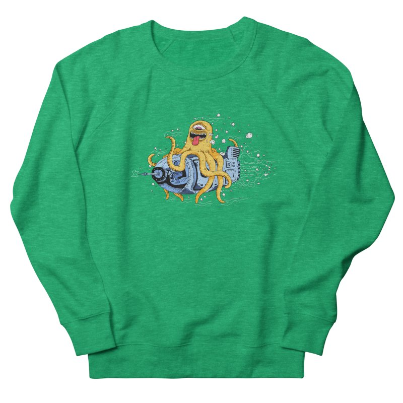 Squid Cruisin Women's Sweatshirt by mikeshea's Artist Shop