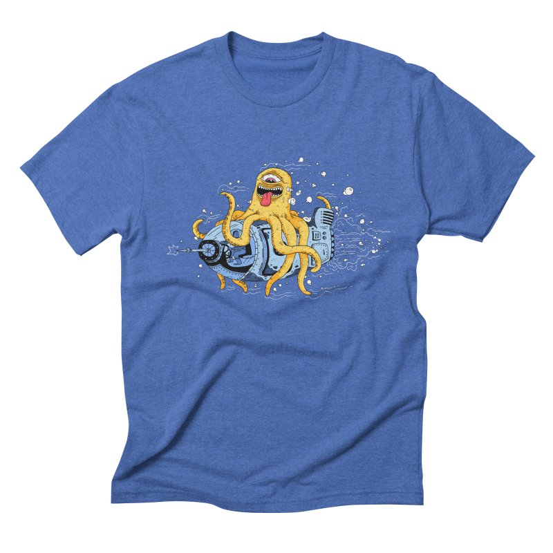 Squid Cruisin Men's Triblend T-shirt by mikeshea's Artist Shop