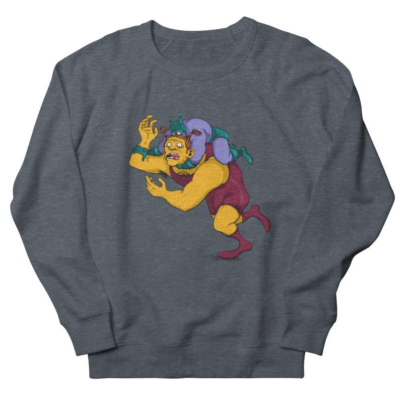 Wrasslin' Men's Sweatshirt by mikeshea's Artist Shop