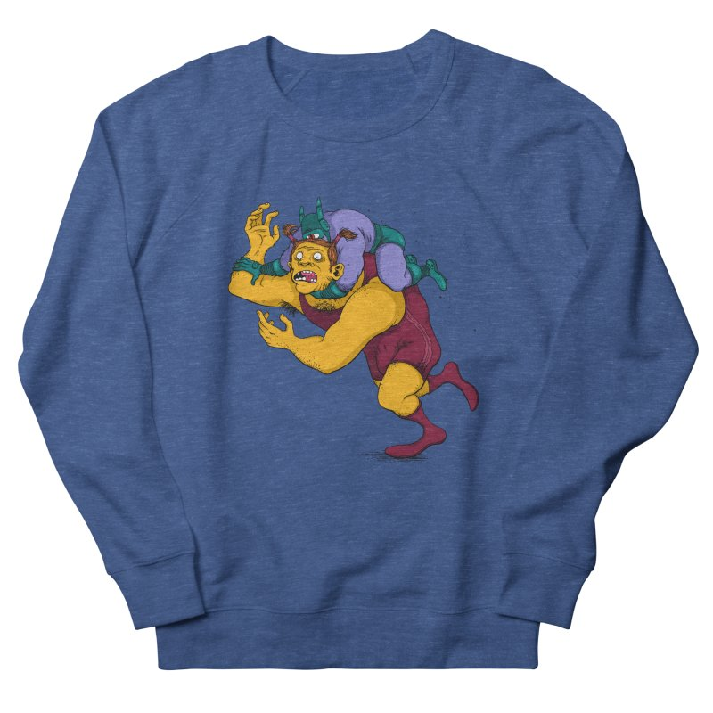 Wrasslin' Men's Sweatshirt by mikeshea's Artist Shop