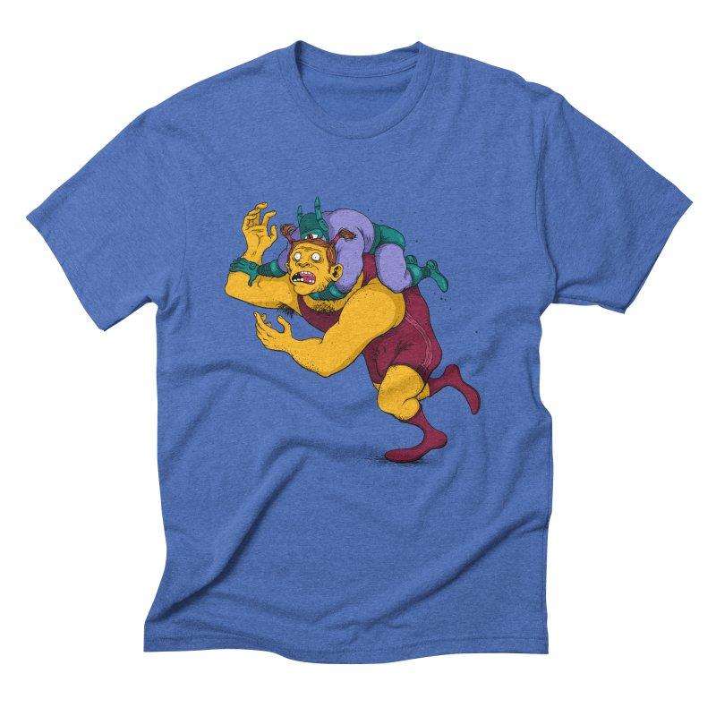 Wrasslin' Men's Triblend T-Shirt by mikeshea's Artist Shop
