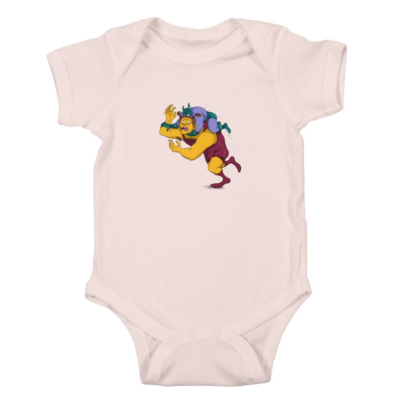 Wrasslin' Kids Baby Bodysuit by mikeshea's Artist Shop