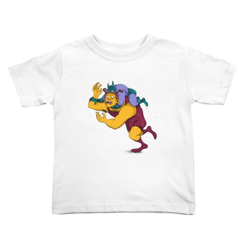 Wrasslin' Kids Toddler T-Shirt by mikeshea's Artist Shop