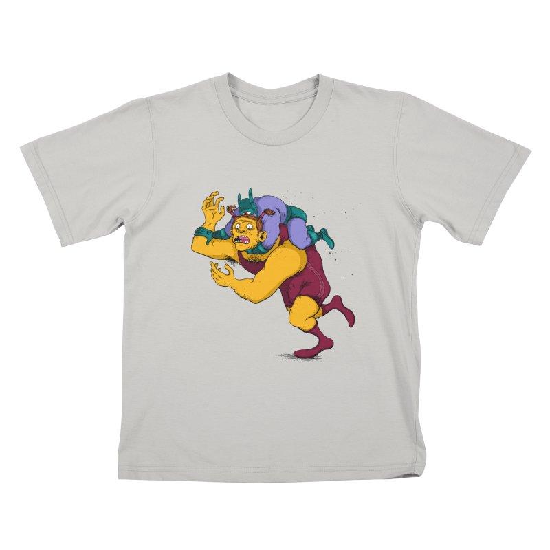 Wrasslin' Kids T-Shirt by mikeshea's Artist Shop